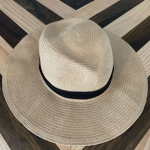 Madewell Mesa Packable Straw Hat like New